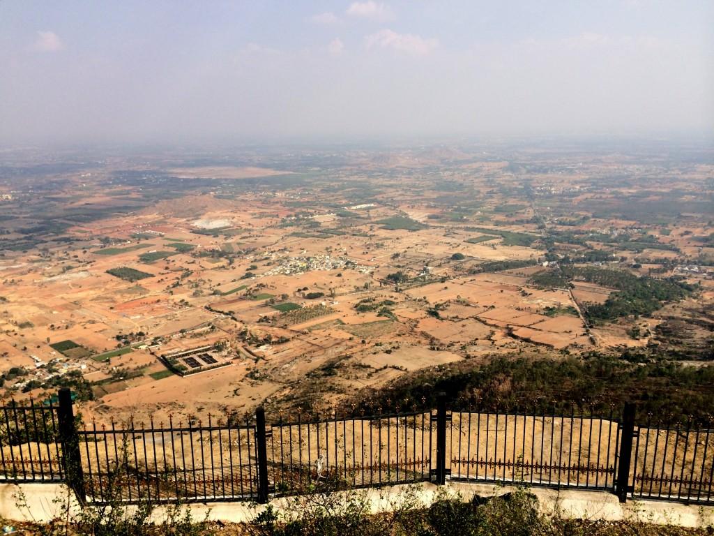 View from Nandi Hills
