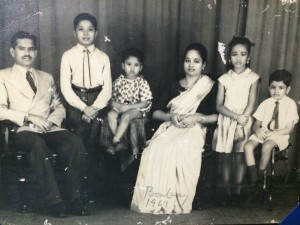 That cute little baby in the middle is my dad!