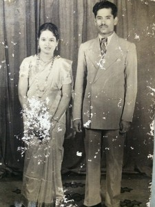 My late grandmother and grandfather shortly after they were married