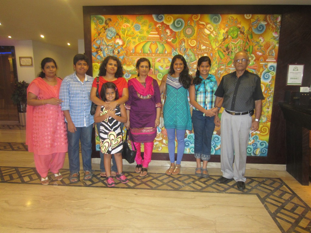 Family Time in Trivandrum