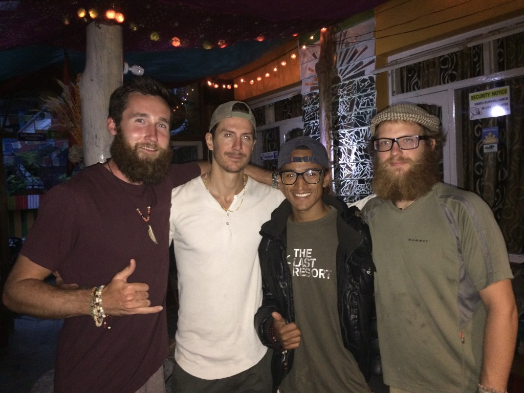 Sean, Justin, Bishal, and Dustin - I miss you guys!