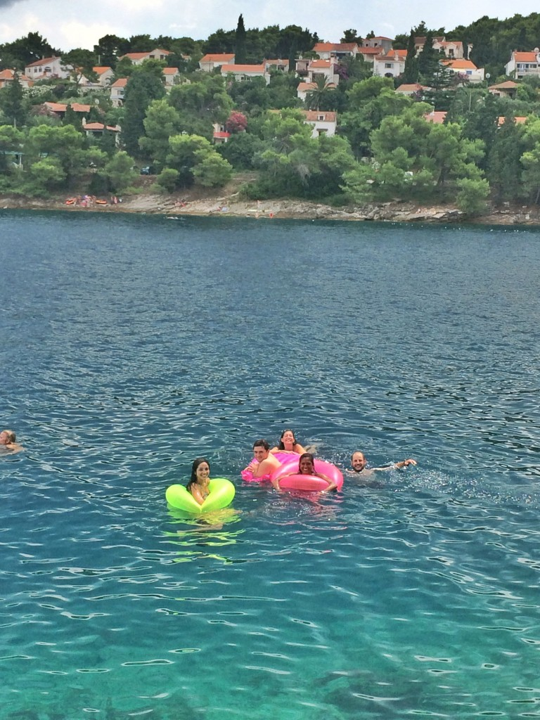 Brac swimming