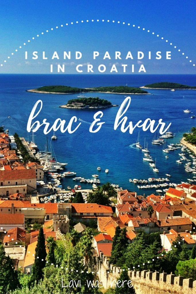Island Paradise in Croatia: Brac & Hvar| It was exactly the paradise that I imagined it would be. Croatia.
