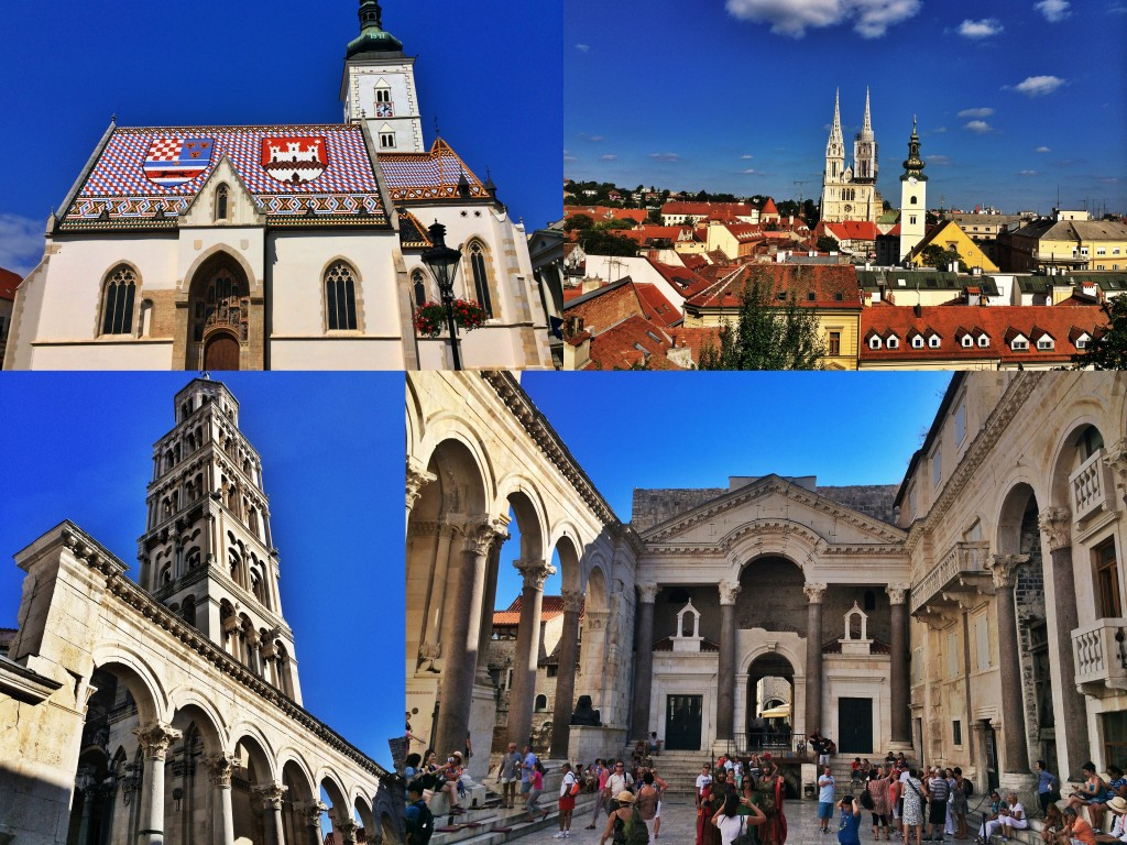 Zagreb and Split