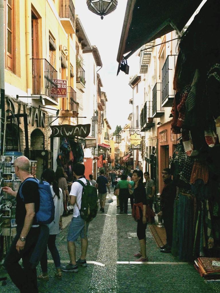 Albayzín streets
