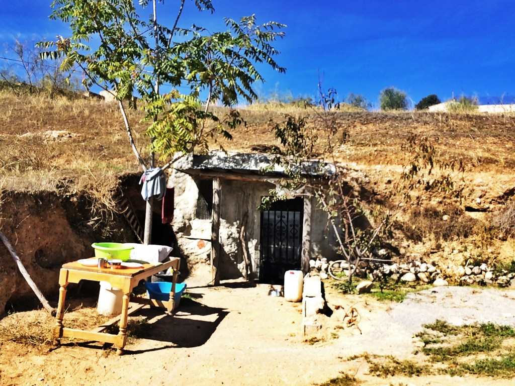 Gypsy cave home