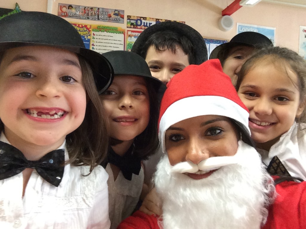 Christmas show at school