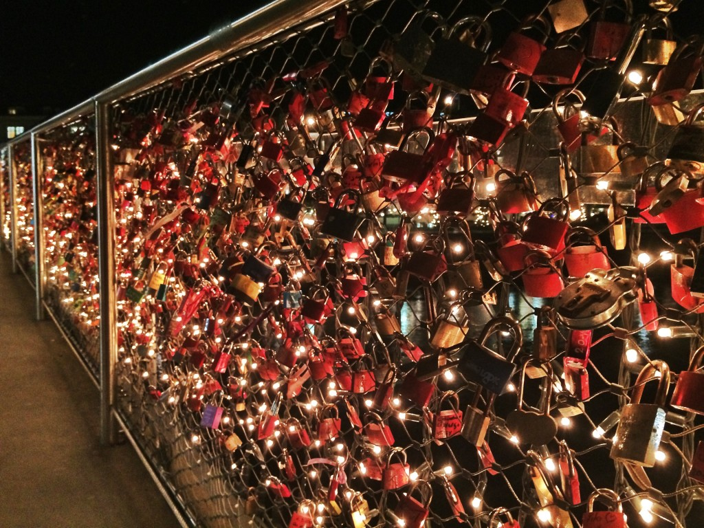 Makarsteg Bridge Love Locks