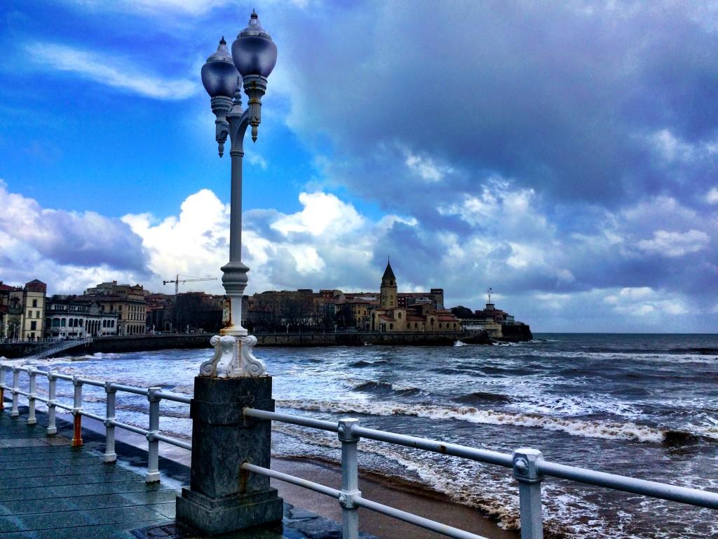 Gijón boardwalk