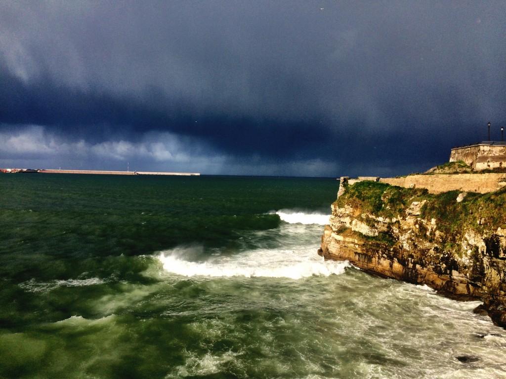 Gijón coast