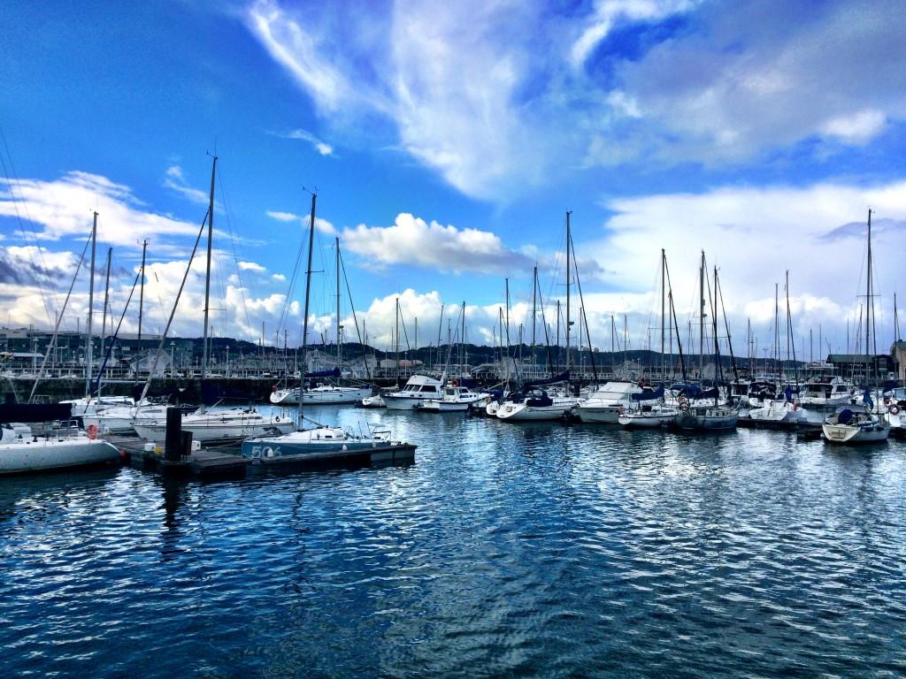 Gijón Harbor