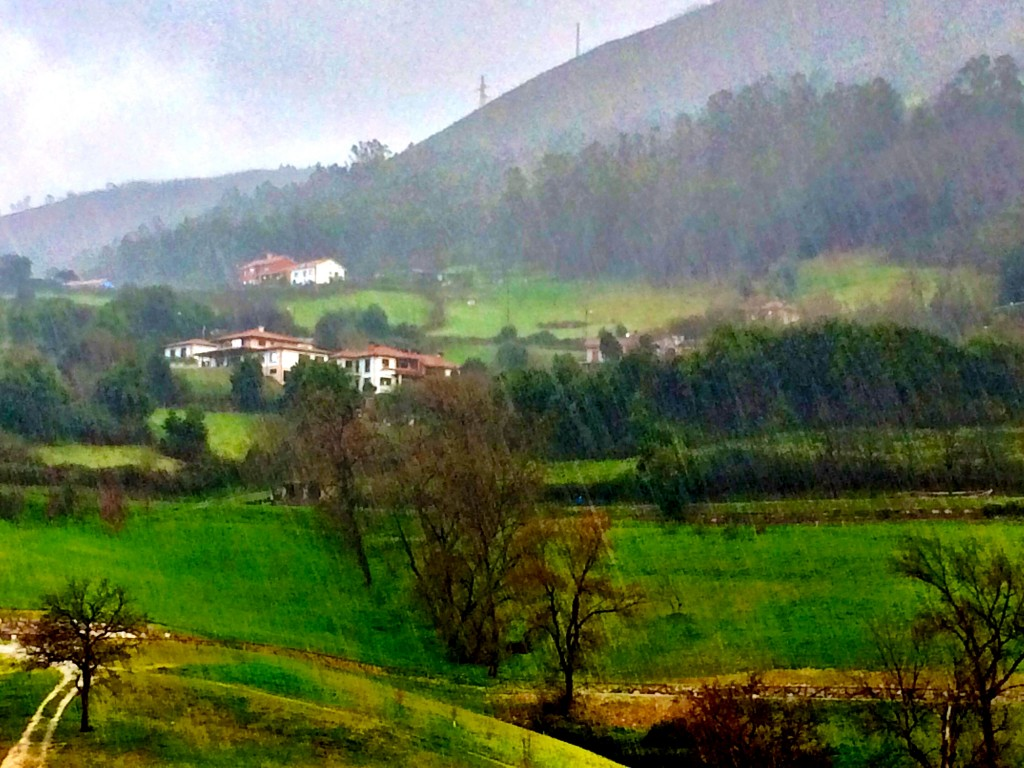 Rainy Oviedo Morning