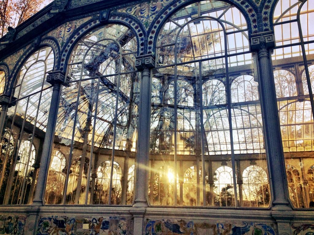 Palacio de Cristal Closeup