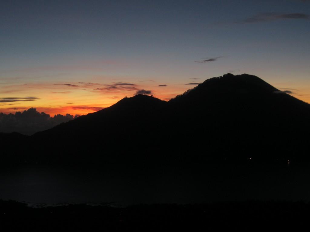 Dawn haze in Bali