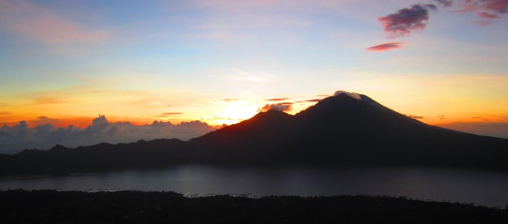 Hiking to the Sun in Bali