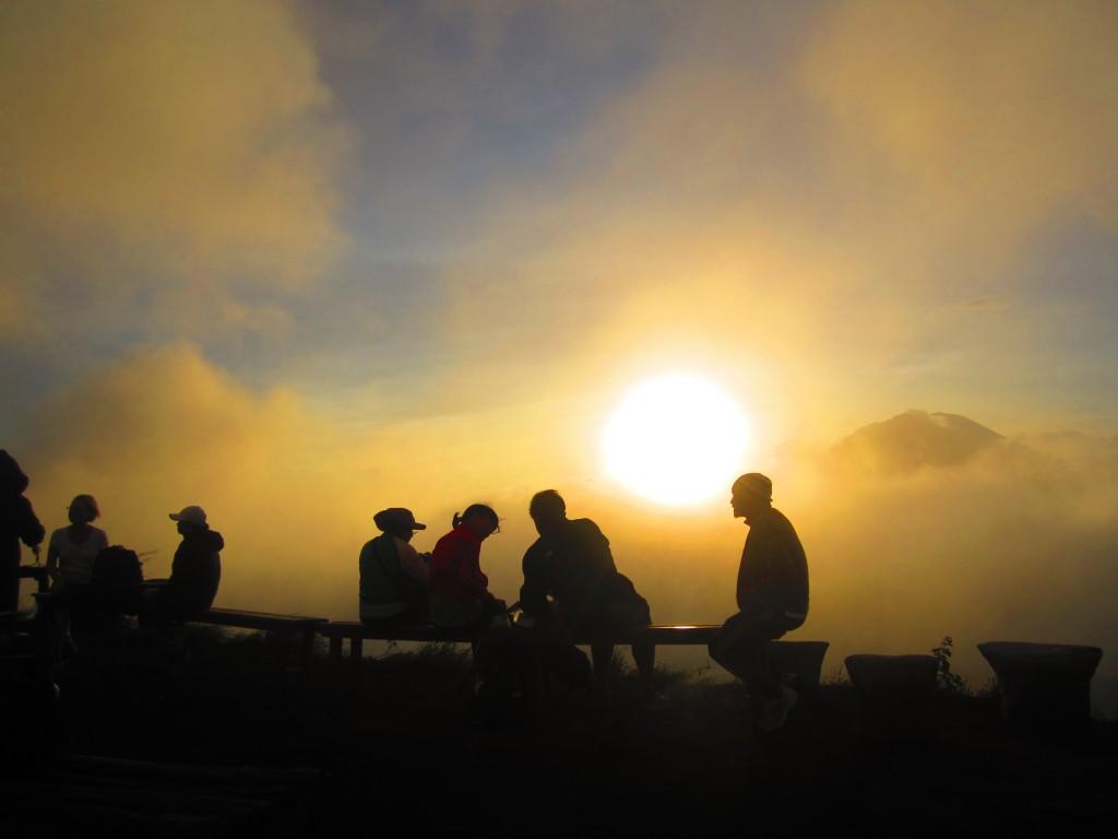 Foggy Bali Sunrise