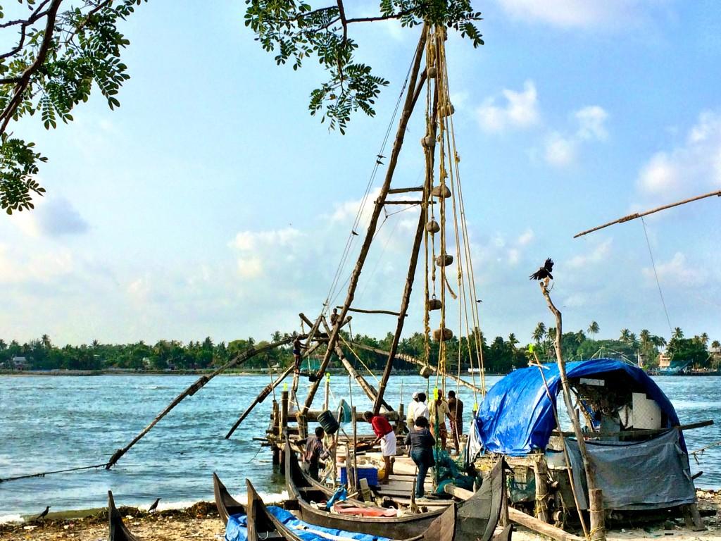 Chinese Fishing Nets, Ft. Kochi