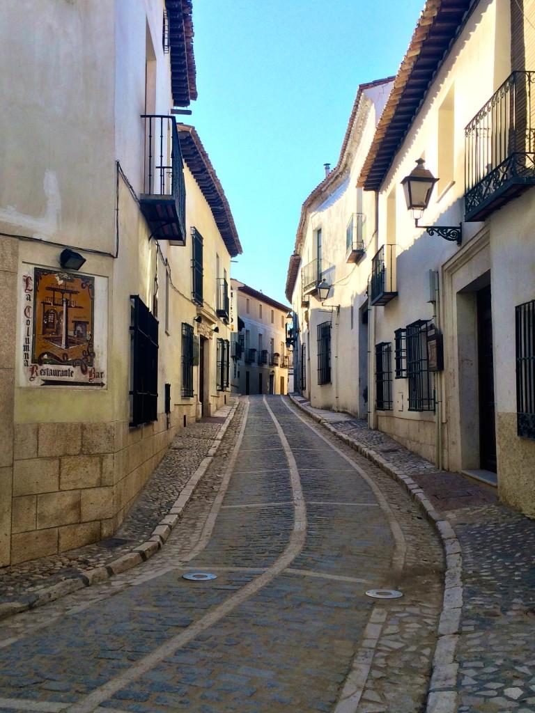 Quiet Streets of Chinchón