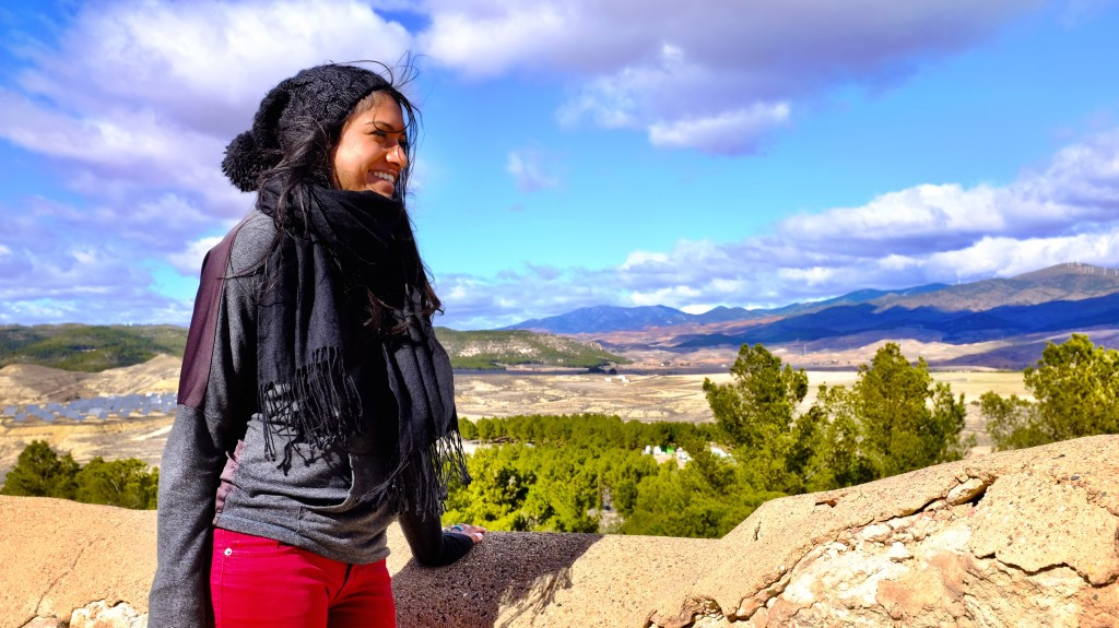 Looking out over Calatayud