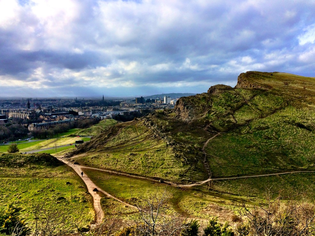Edinburgh and Salisbury Crags