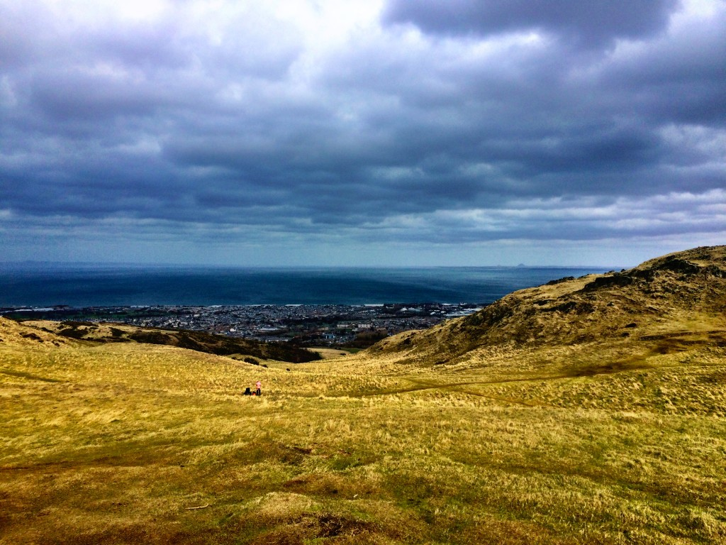 Arthur's Seat North Sea view