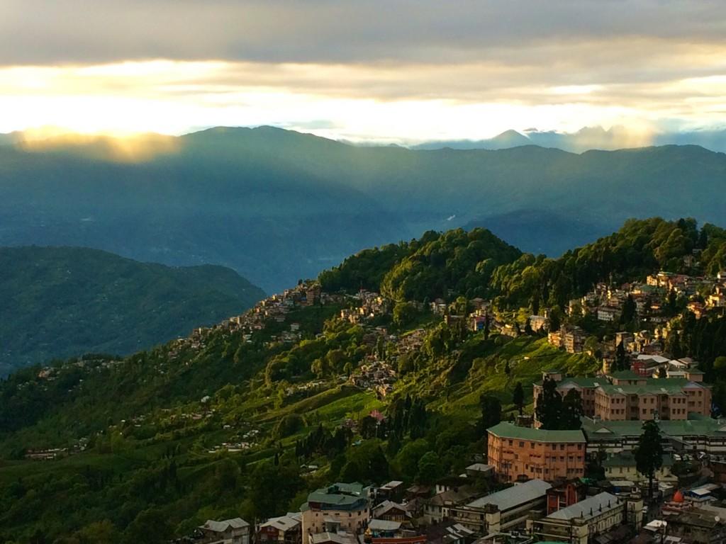 Mountainside in Darjeeling, India