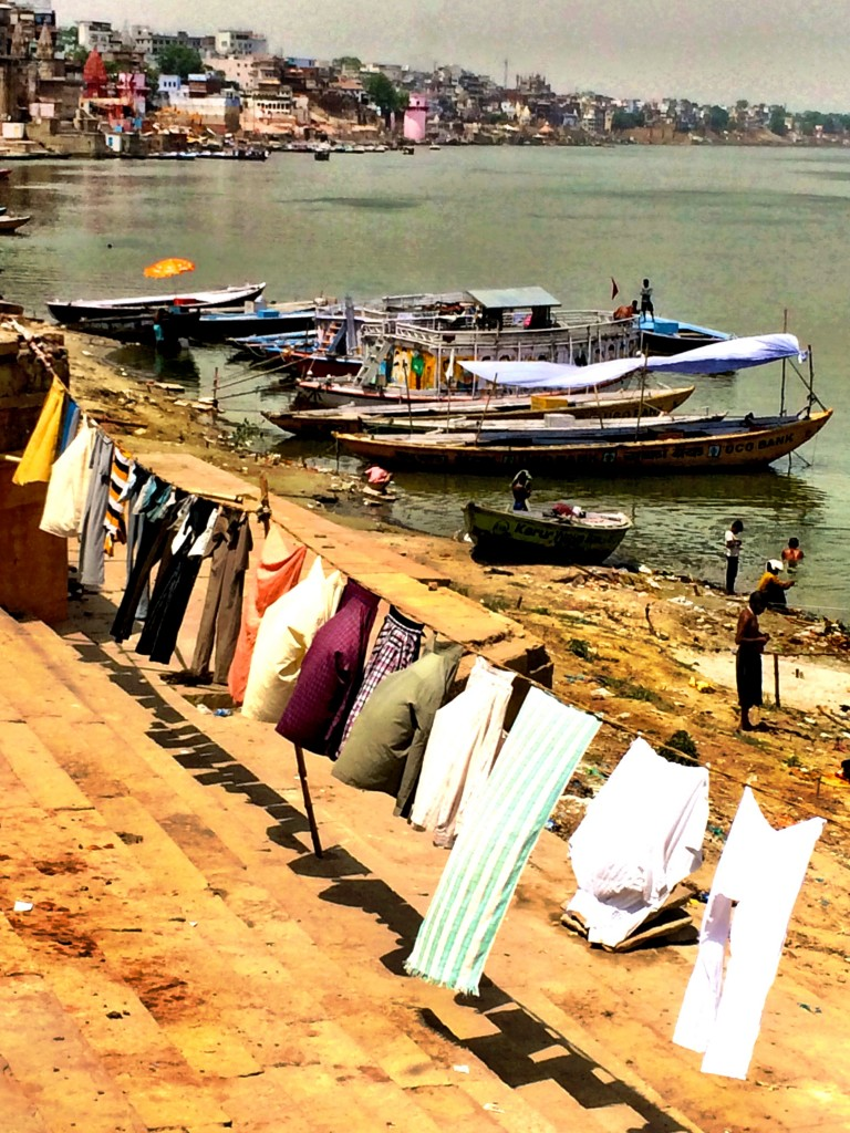 Clothes Hung Out to Dry, Varanasi