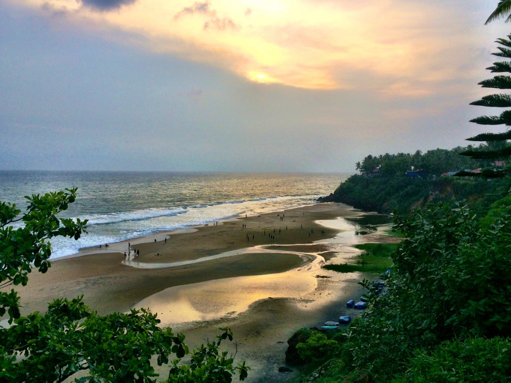 Walking the Cliffs, Varkala