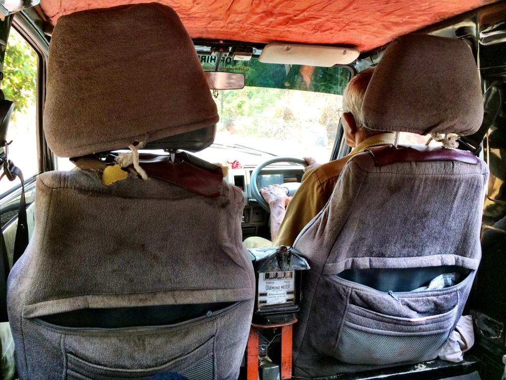 Cab ride, Goa