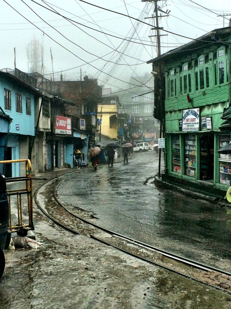 Rainy day exploring, Darjeeling