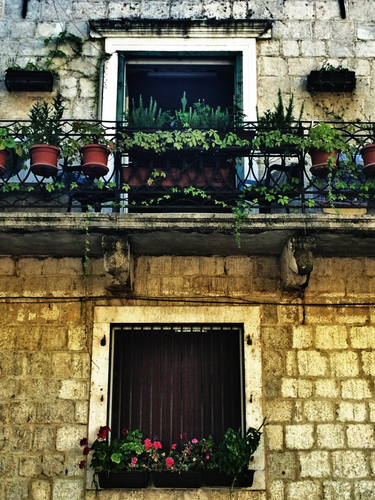 Balcony in Kotor