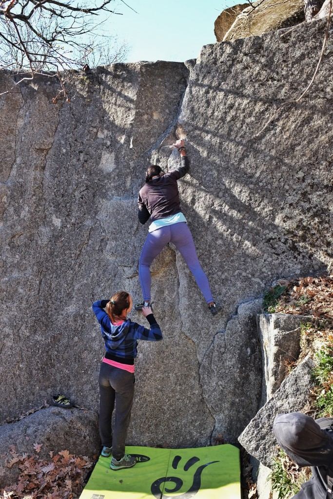 Climbing El Escorial, Madrid