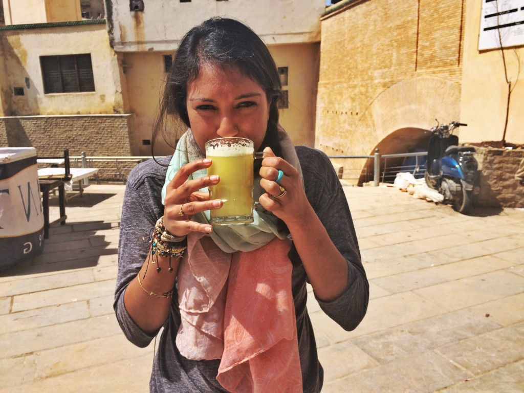 Drinking Sugarcane Juice, Fes