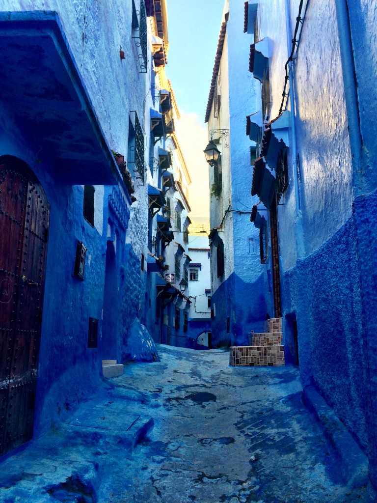 Looking up, Chefchaouen