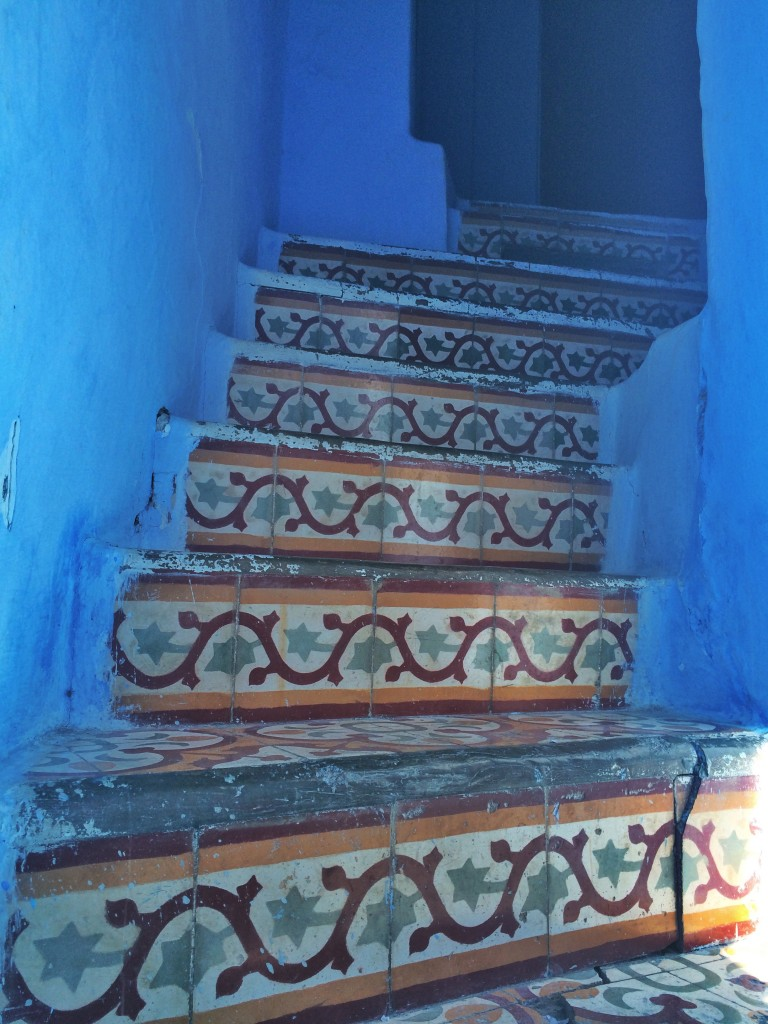 Stairs, Chefchaouen