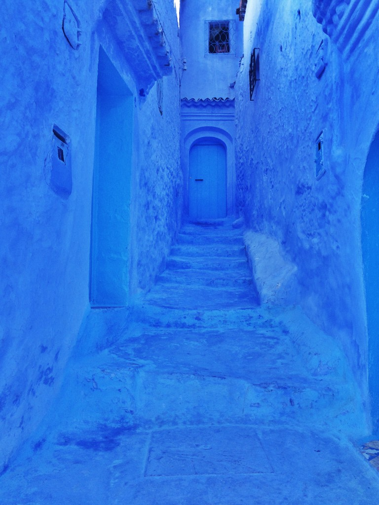 Blue door, blue walls, Chefchaouen