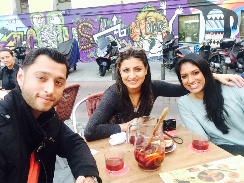 Akshay & Ainoor in Madrid