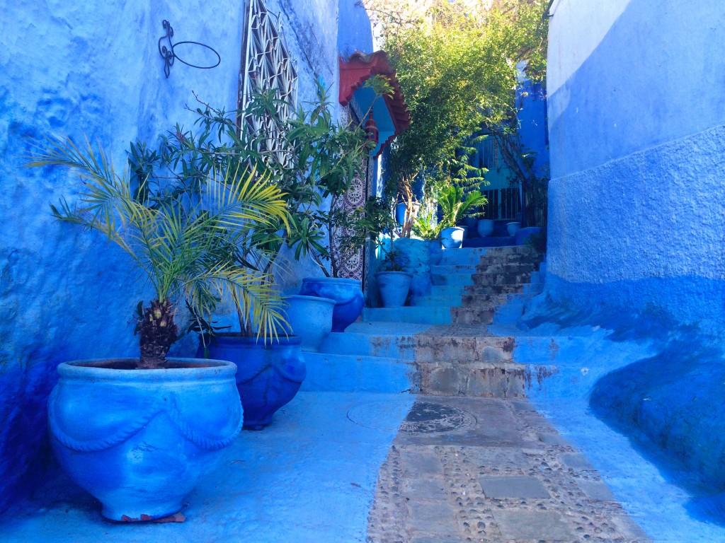 Blue pathway, Chefchaouen