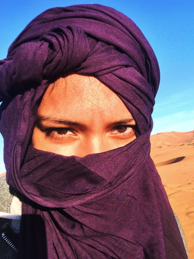 Sun Protection in the Sahara