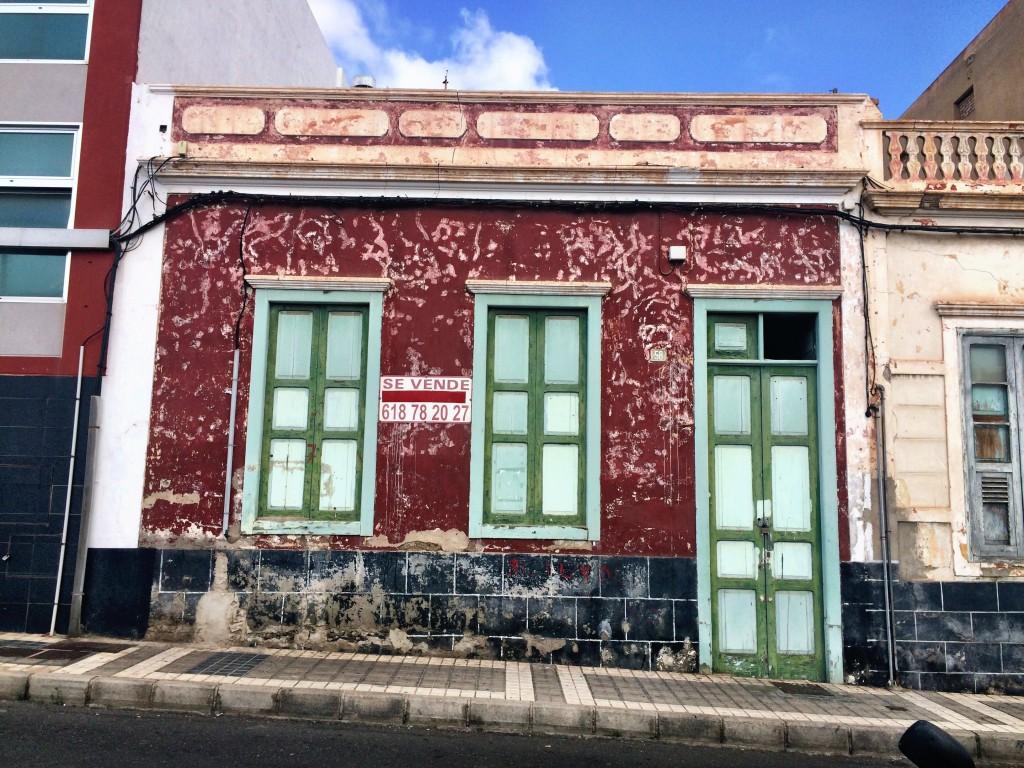 Abandoned building, Las Palmas