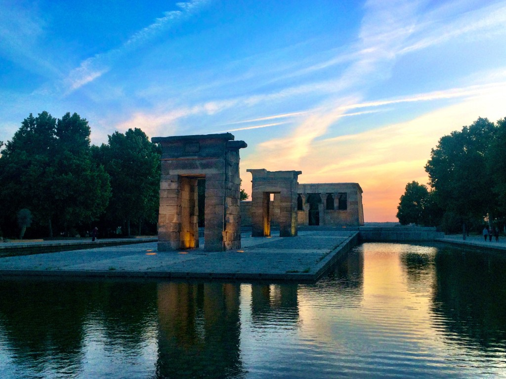 Templo de Debod Sunset
