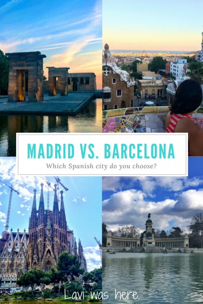 The El Clásico Debate: Madrid or Barcelona? | How can you choose between two stunning Spanish cities, but if you had to, which is your favorite? Read on as I try to break it down for you. | Lavi was here.