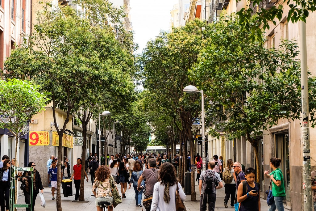Calle Fuencarral, Madrid
