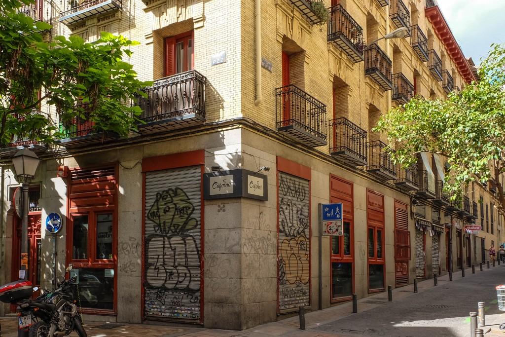 Closed stores, Madrid