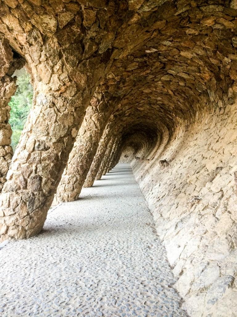 Park Guell Pilars