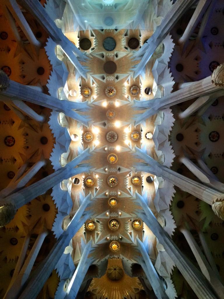 Inside Sagrada Família