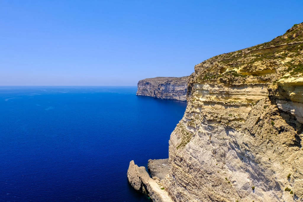 Xlendi Cliffs