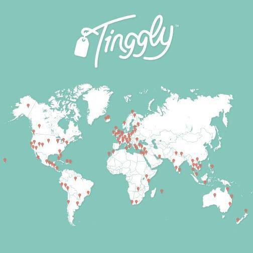 Tinggly Experiences Map