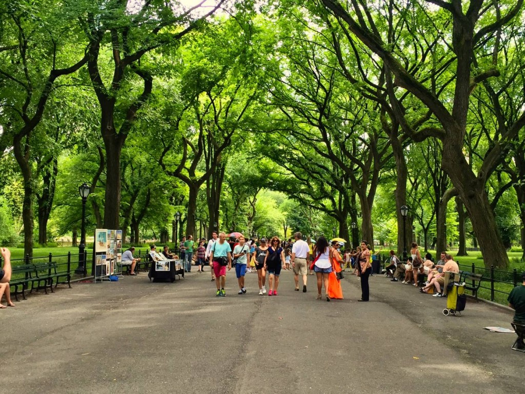 The Mall, Central Park
