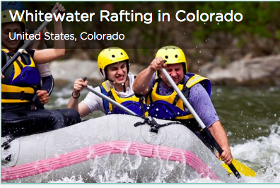 Tinggly Whitewater Rafting in Colorado